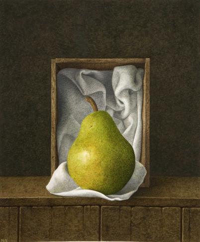 Nigel Ashcroft, Pear box (unframed)
