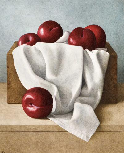 Nigel Ashcroft, Box of red plums