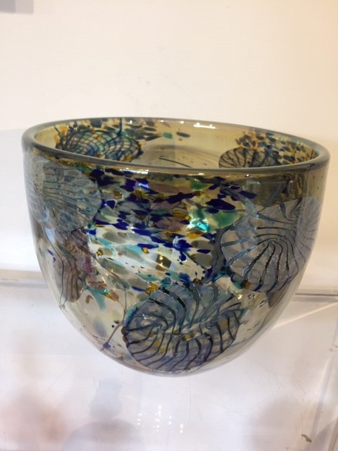 Will Shakspeare, 300 Flotsam large bowl [light Aqua]