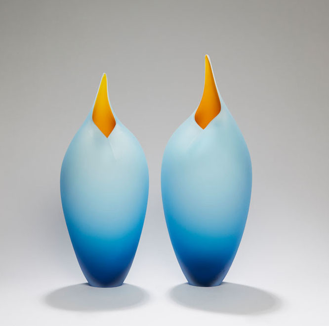 Bruce Marks, Blue and yellow birds