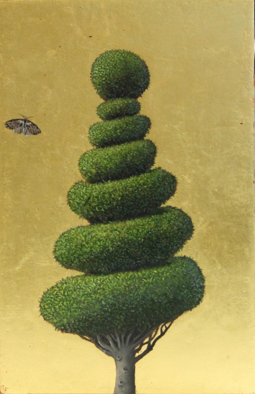 Marcelle Milo Gray, Topiary yew SOLD