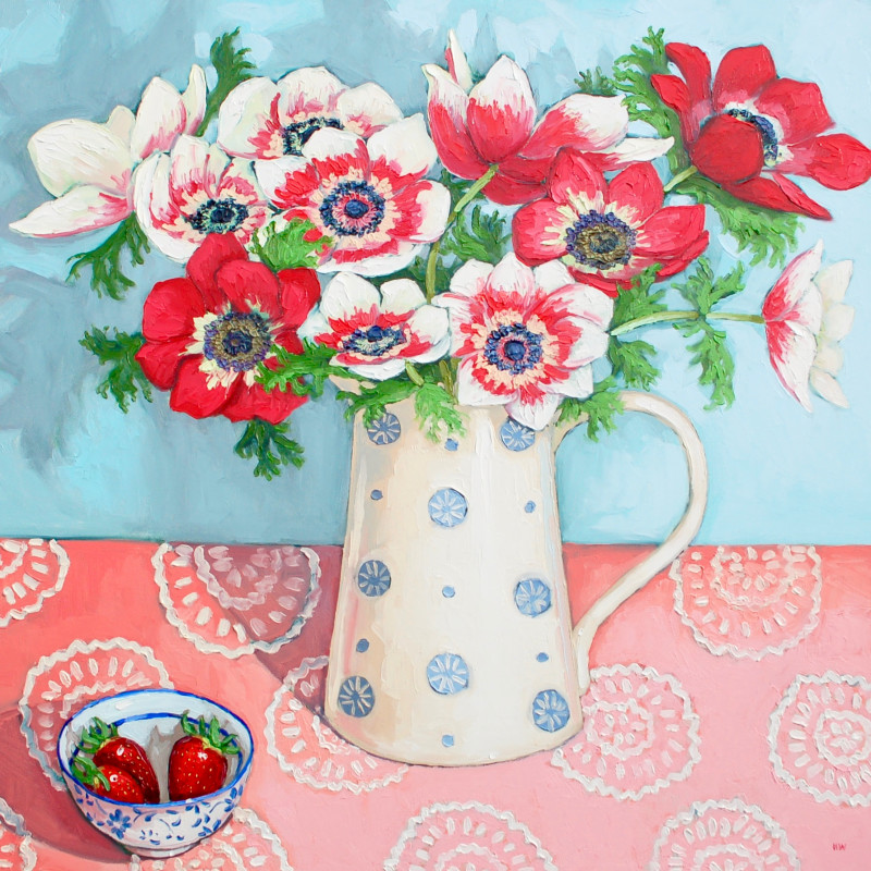 Halima Washington-Dixon, Strawberry and cream bouquet