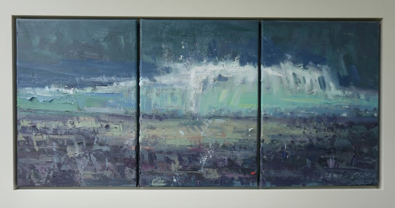 Gary Long, Large wave triptych