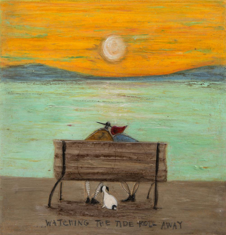 Sam Toft, Watching the tide roll away
