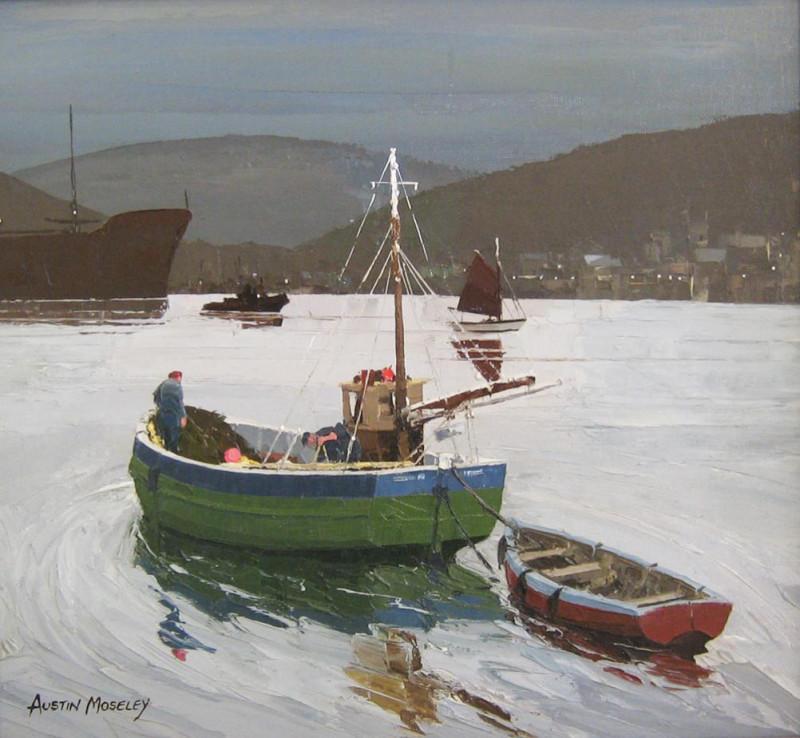 Austin Moseley RBSA, Evening tide