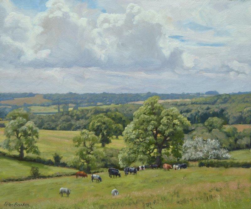 Peter Barker RSMA, Towards Wardley Wood
