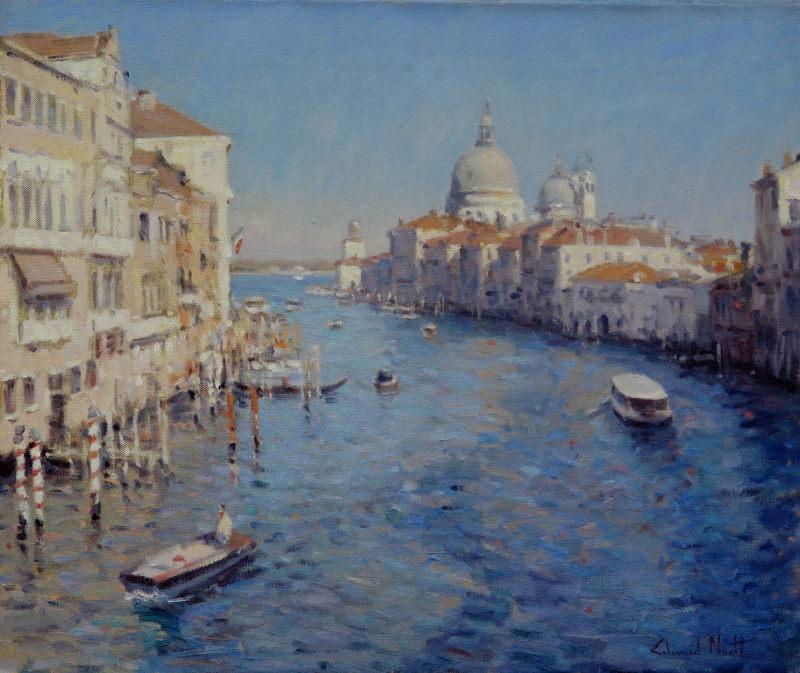 Edward Noott RBSA, Afternoon light, Venice