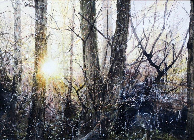 Deborah Walker RI RSMA, Winter kept us warm