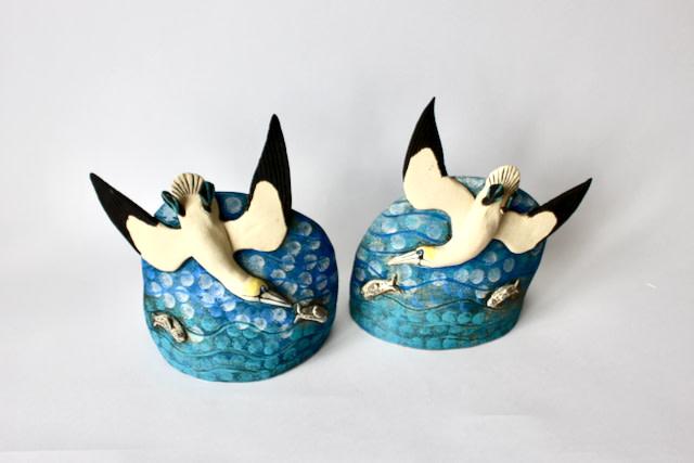 Lesley Anne Greene, Small fishing Gannets