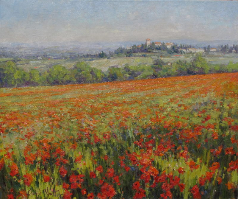 Edward Noott RBSA, Tuscan Spring