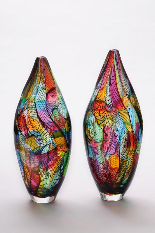 Bob Crooks, Mini Mosaic - tall - multicolour
