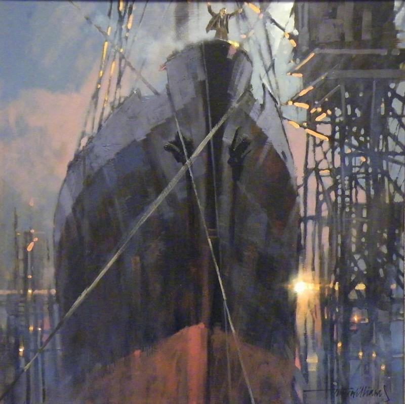 Tony Williams ARSMA SWAc, Sailing through the Steelbergs