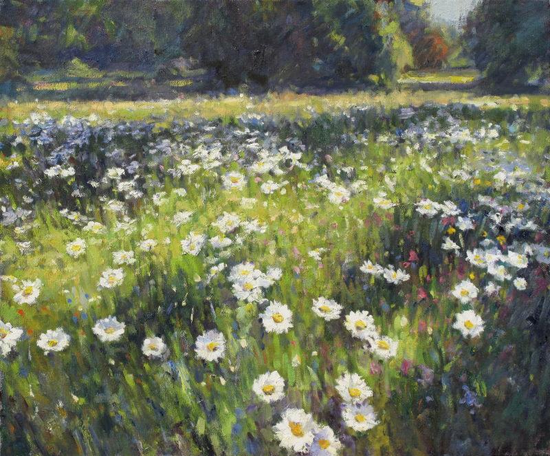 Edward Noott RBSA Wild flowers
