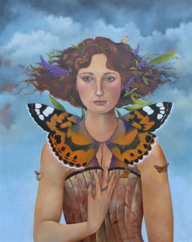 Rosie Lippett, Painted lady