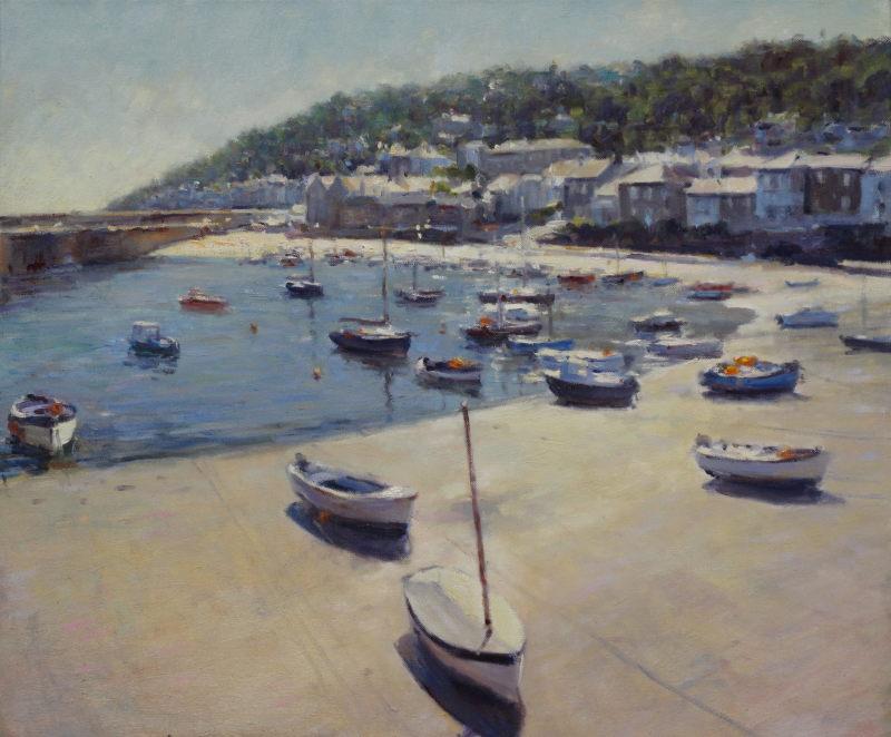 Edward Noott RBSA, Mousehole Harbour