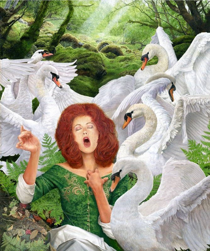 Terry Rushworth, The six swans
