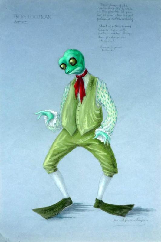Joan Jefferson Farjeon, Frog Footman