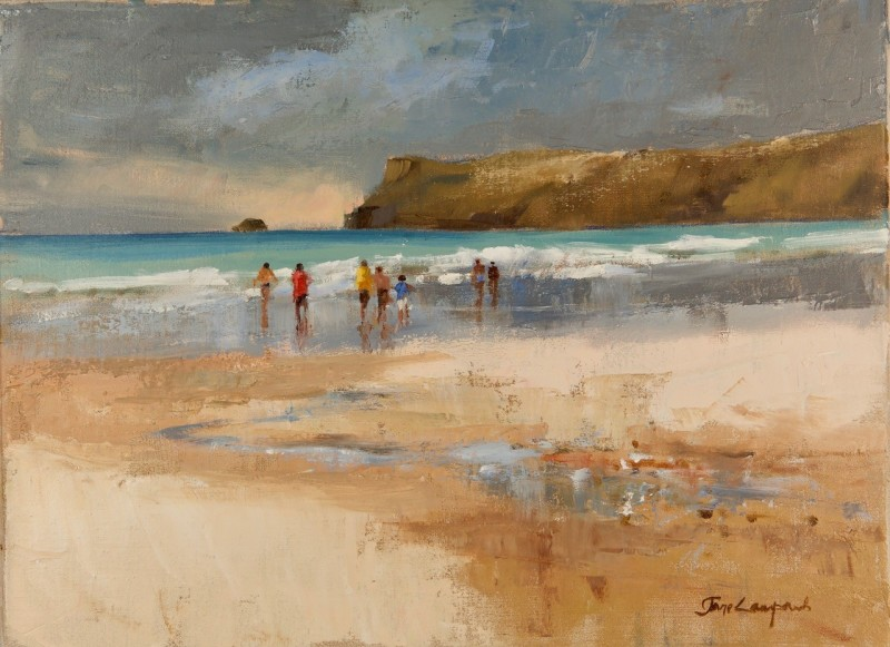 Jane Lampard, After the storm, Polzeath