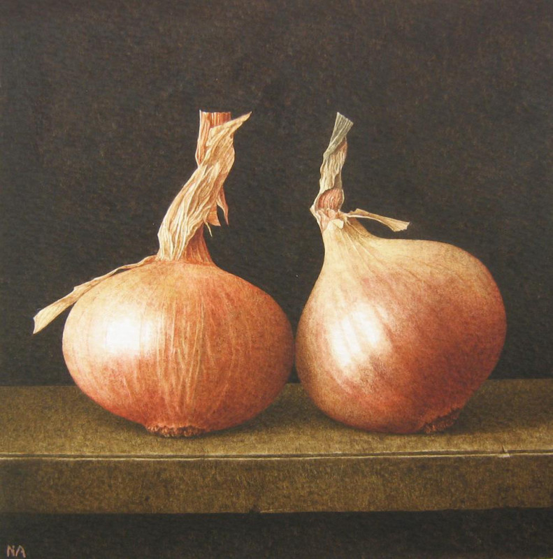 Nigel Ashcroft, Onion shelf