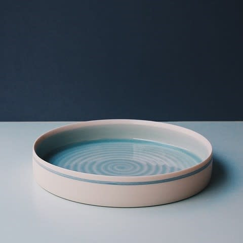 Kathryn Sherriff, Porcelain shallow serving dish
