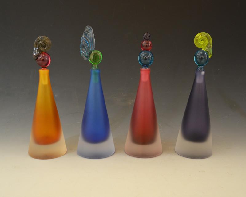 Bob Crooks, Conical scent bottles