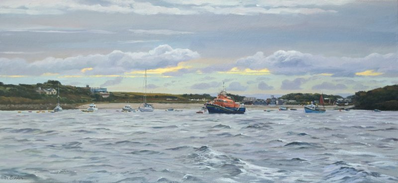 Peter Barker RSMA, Leaving St Mary's