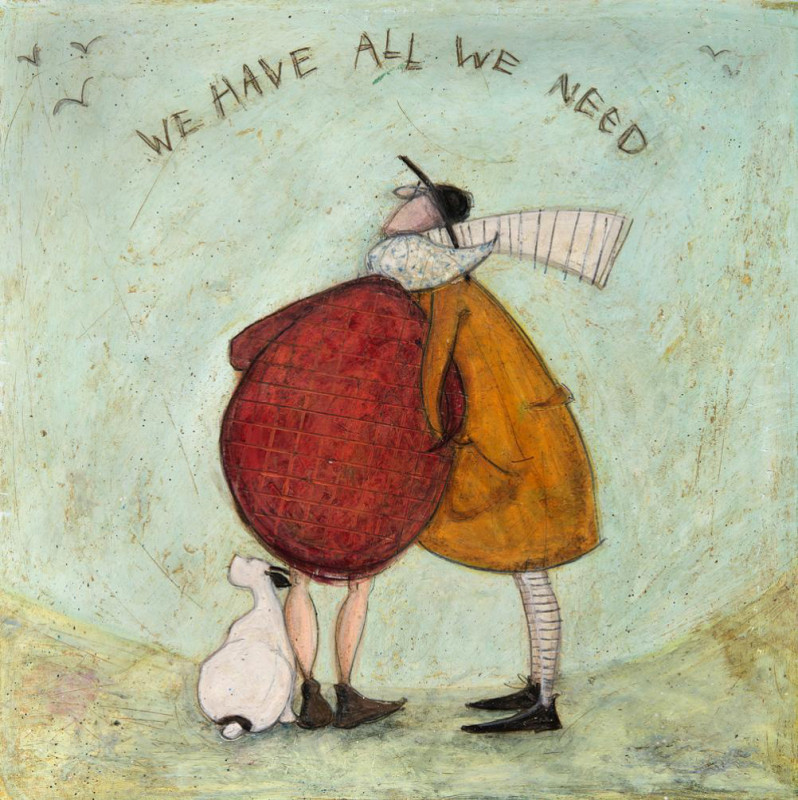 Sam Toft, We have all we need SOLD