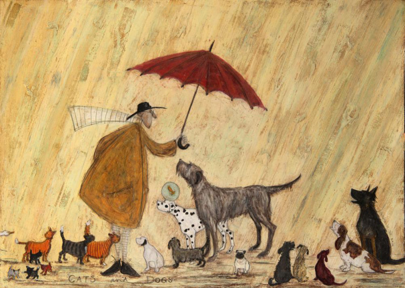 Sam Toft, Cats & dogs SOLD