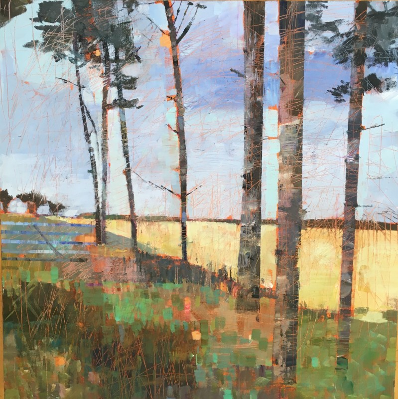 Sally Anne Fitter, Scots pines near Burnham