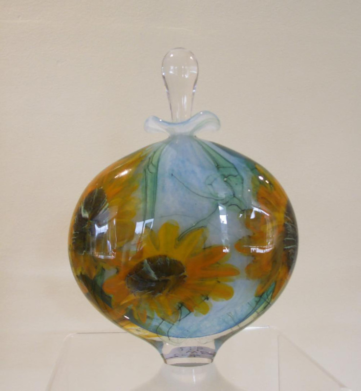 Peter Layton, Sunflower - perfume bottle II
