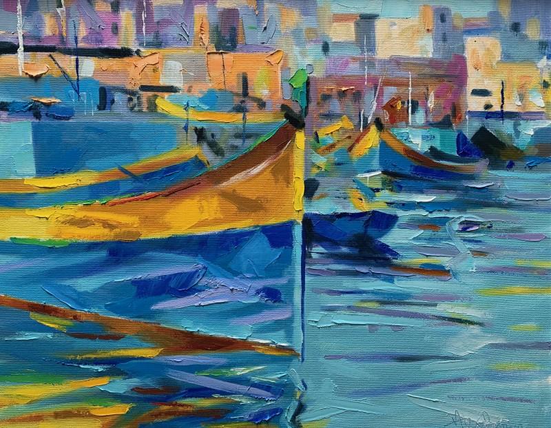 Alex Brown, Mediterranean harbour