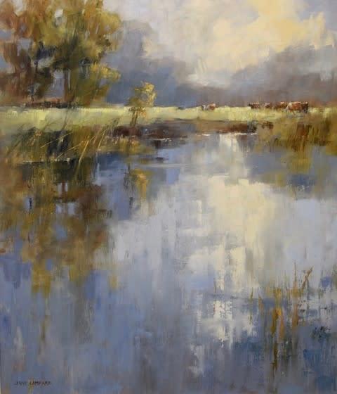 Jane Lampard, Across the water