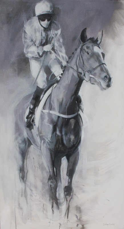 Sally Martin, Hold your horses - cantering up II