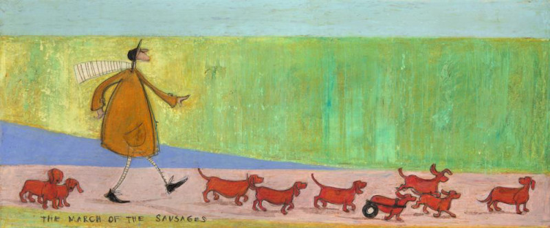 Sam Toft, The march of the sausages