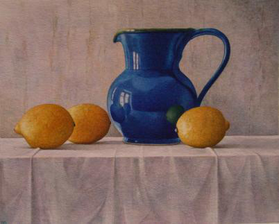 Nigel Ashcroft, Reflections in a Blue Jug (unframed)