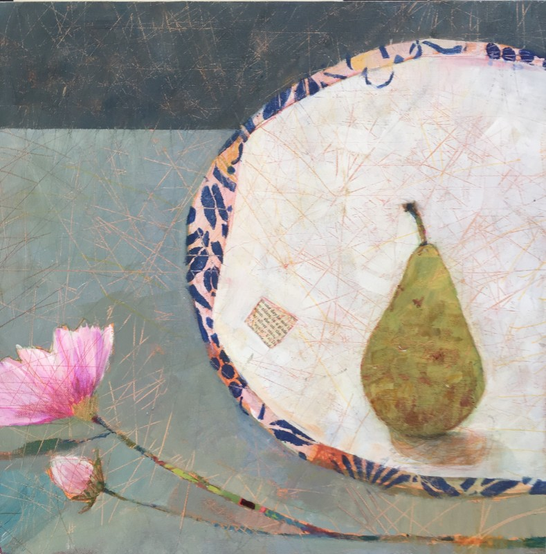 Sally Anne Fitter, Cosmos pear & plate