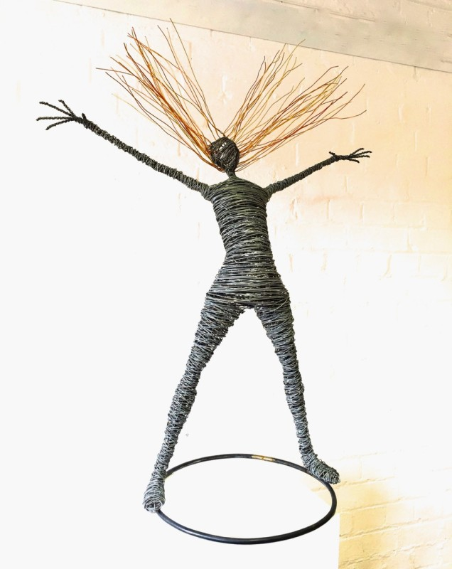 Rachel Ducker, 8. Figure medium standing on circular base
