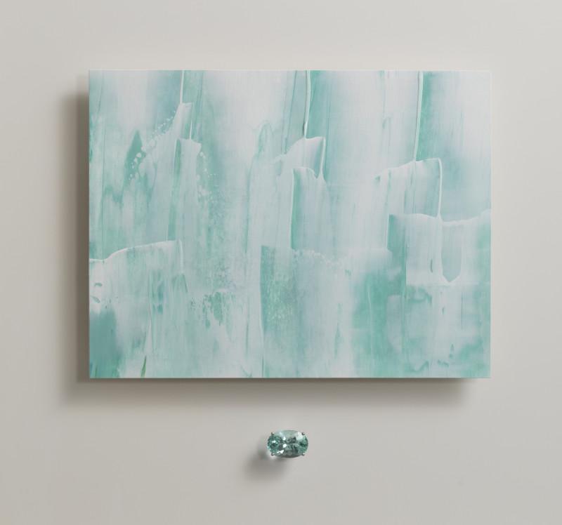 Lisa Sharpe & Doris Hangartner, Essence of Green Beryl, Icebergs