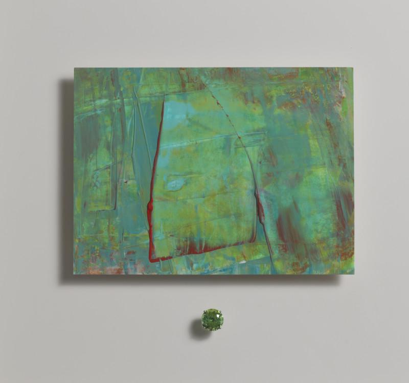 Lisa Sharpe & Doris Hangartner, Essence of Green Tourmaline I - Under Sea Forest