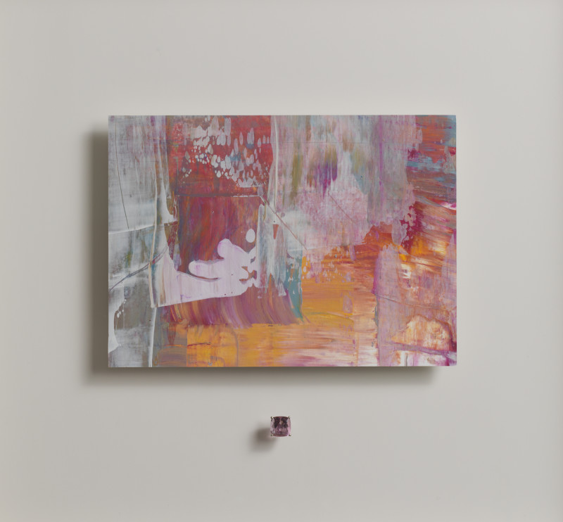 Lisa Sharpe & Doris Hangartner, Essence of Rose Imperial Topaz I - Myriad III
