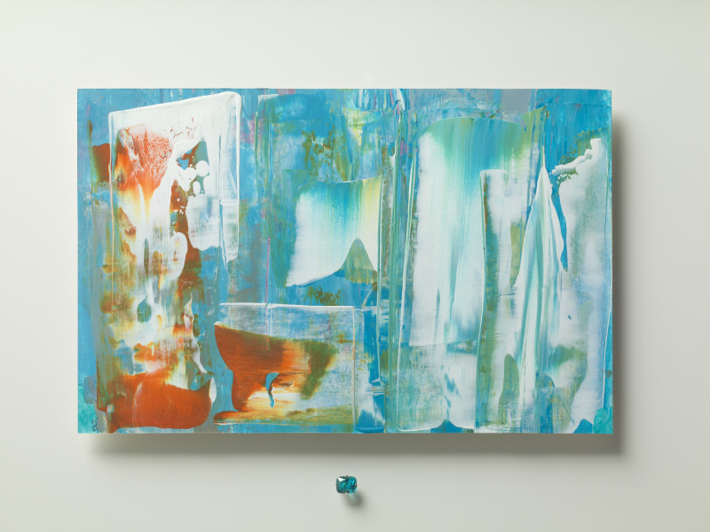 Lisa Sharpe & Doris Hangartner, Essence of Blue Zircon I