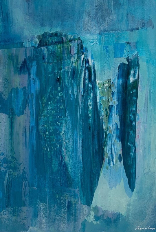 Lisa Sharpe Paintings, Atlantis