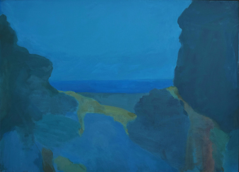Karen Smidth, Evening Blue by Santa Barbara