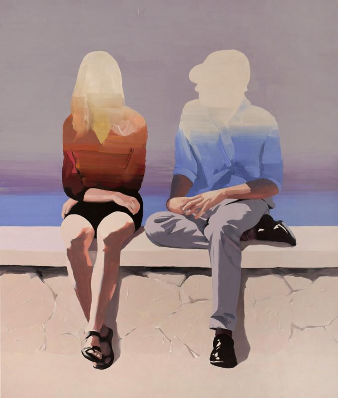 Jarek Puczel, Couple at the Seaside