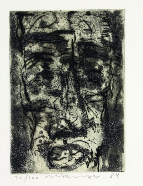 Marwan, 1934-2016, Kopf: Figur