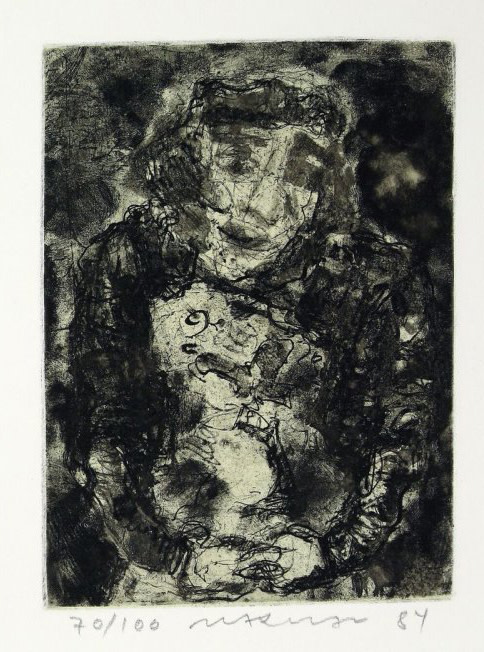 Marwan, 1934-2016, Kopf: Figur, 1984