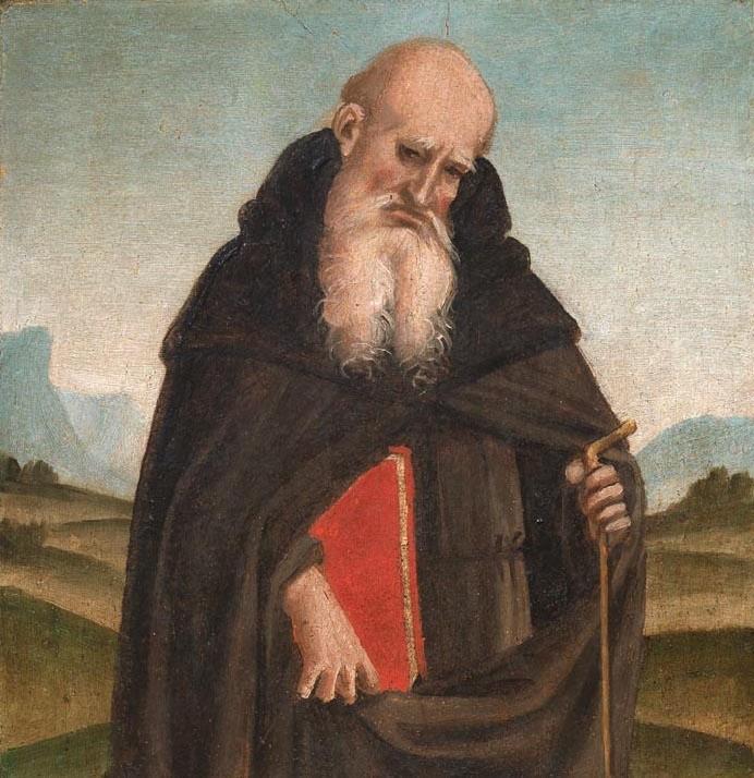 Luca Signorelli, Saint Francis, Saint Anthony Abbot