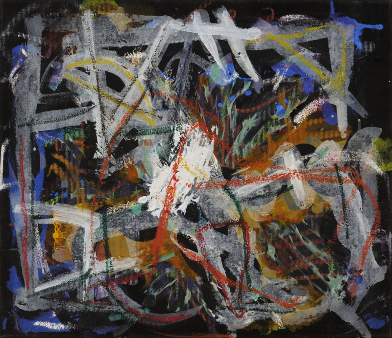 Gary Wragg, Untitled- Black Painting