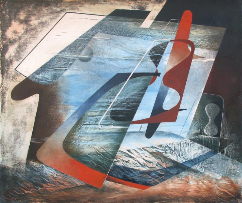 John Tunnard, Abstract Composition
