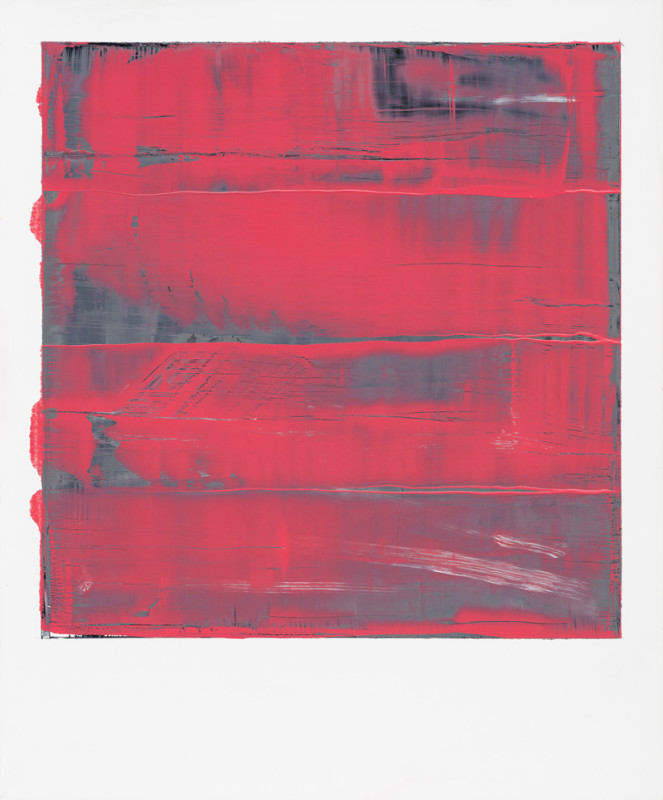 Jonathan S Hooper Cat 23 Waveform No 11 signed, titled and dated 2017 verso oil and resin on aluminium panel 65 x 54 cms (25½ x 21¼ ins) framed: 67 x 56 cms (26½ x 22 ins)